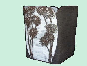 Vase-papyrus