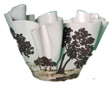 Coupe porcelaine
